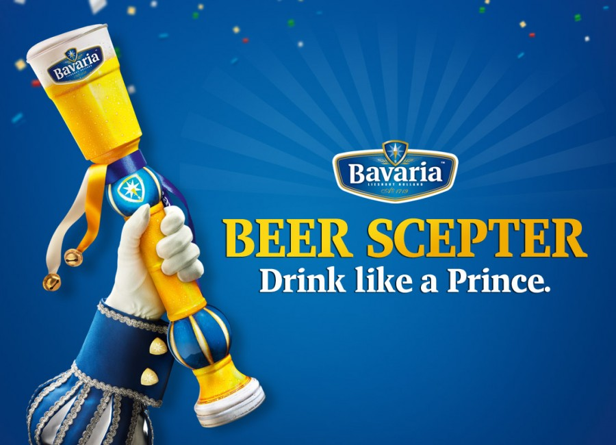 Bavaria Beer Scepter